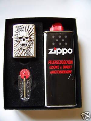 Zippo Feuerzeug Scream of Sand Geschenk-Set