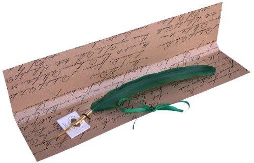 Kalligraphie-Geschenkset grün