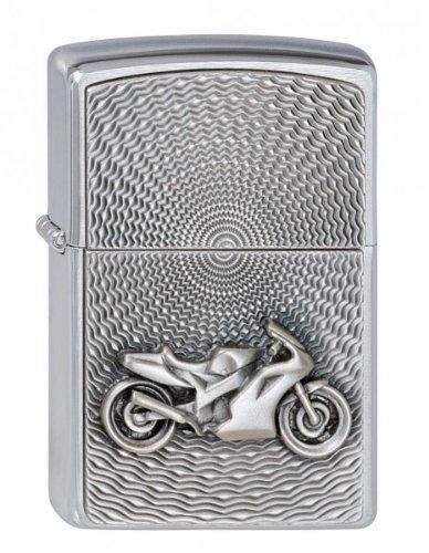 Zippo 2000225 Feuerzeug 200 Motor Bike Emblem