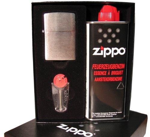 ZIPPO Feuerzeug – Metall (Benzin-Feuerzeuge), EGAFF3916764, Geschenk-SET