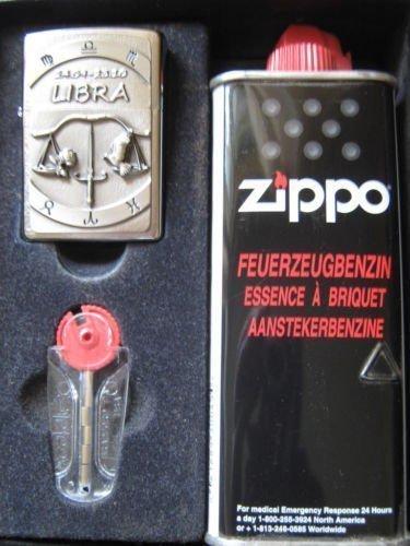 Zippo Feuerzeug Sternzeichen Waage Geschenk Set