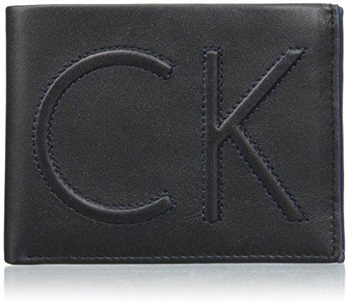 Calvin Klein Herren Filip Gift Box Geldbörse, Schwarz (Black), 3 x 11.9 x 19.10 cm