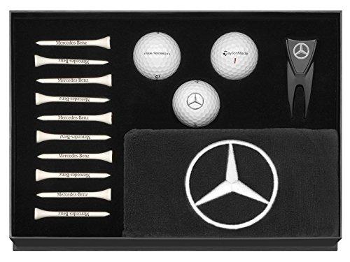 Golfset weiß / schwarz