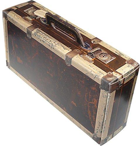 Schwarzwald Metzgerei – Geschenkebox im Koffer Design aus stabilem Karton, in sehr schöner in Holzoptik – 360 x 182 x 91 mm