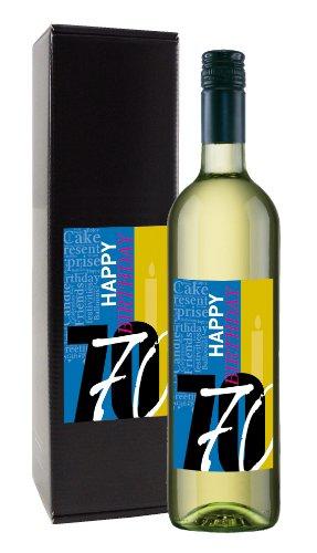 Wein-Geschenk '70. Geburtstag'