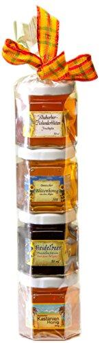 Marmeladen-Honig Geschenk Rolle aus dem Allgäu – perfektes Geschenk für Marmeladen und Honig Liebhaber