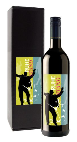 Wein-Geschenk 'RUHESTAND'