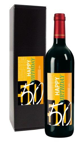Wein-Geschenk '50. Geburtstag'