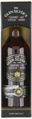 Glen Silver Blended Malt Whisky Geschenkbox, 1er Pack (1 x 700 ml)