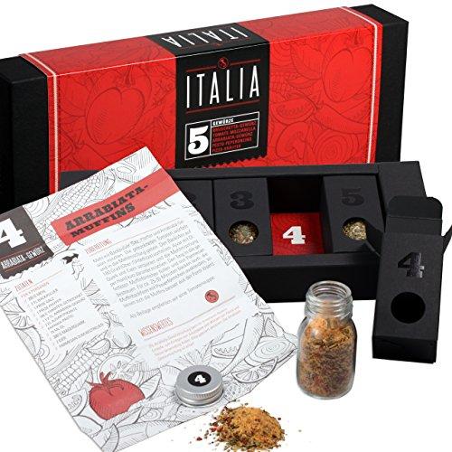 Gewürzset Italia – Die perfekte Geschenkidee für Geniesser!