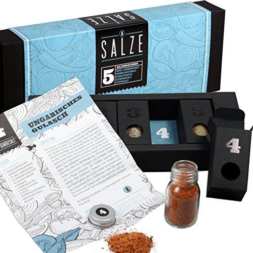 Gewürzset Salze – Die perfekte Geschenkidee für Geniesser!