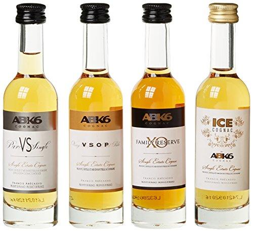 ABK6 Abécassis Cognac Miniaturen Geschenkbox (4 x 0.05 l)