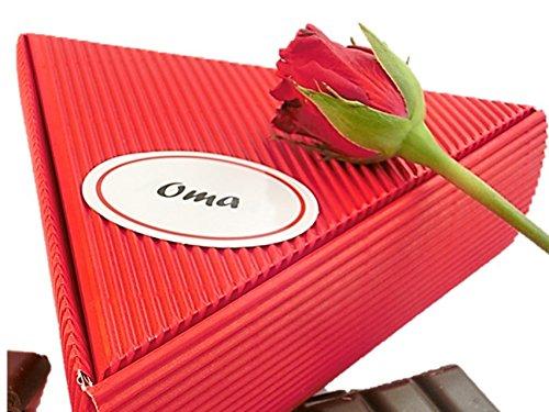 Geschenk Oma – Fruchtaufstrich Frühstücks Paket – 6x50ml | gut als Geschenkidee Oma, Seniorin, Großmutter, Geschenkbox Oma, Großmutter, Geschenk Set Oma, Großmutter, Großmama