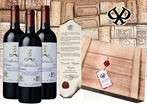 3er Wein Geschenkset Baron Philippe de Rotschild