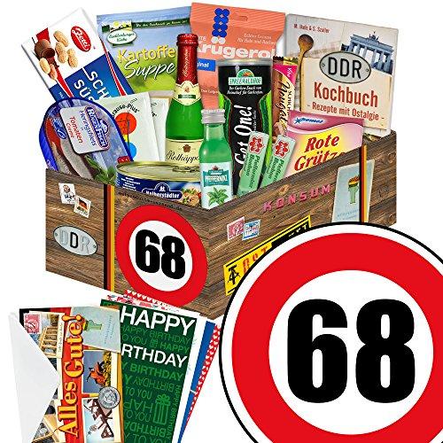 Ostpaket zum 68 Geburtstag + Geschenkverpackung